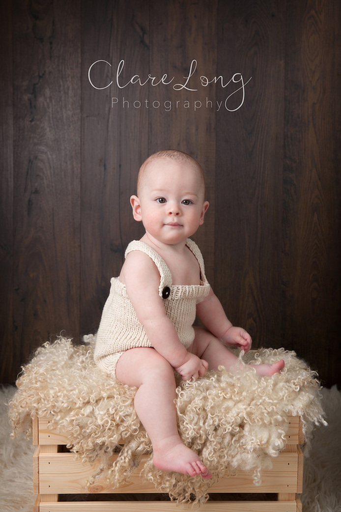 Clare Long Photography 6 months Baby sitting Photographer Kent
