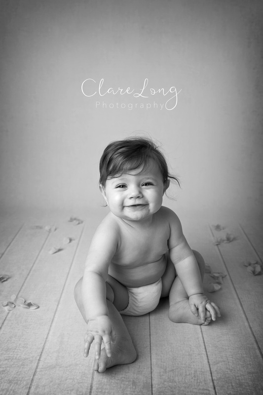 Clare Long Photography Bexley Kent photographer Sitter session black and white smile