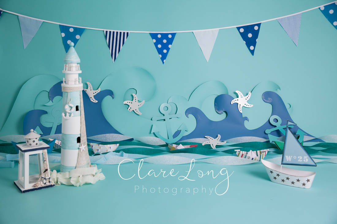 Clare Long Photography Kent photographer handmade set personalised shoot cakesmash seaside