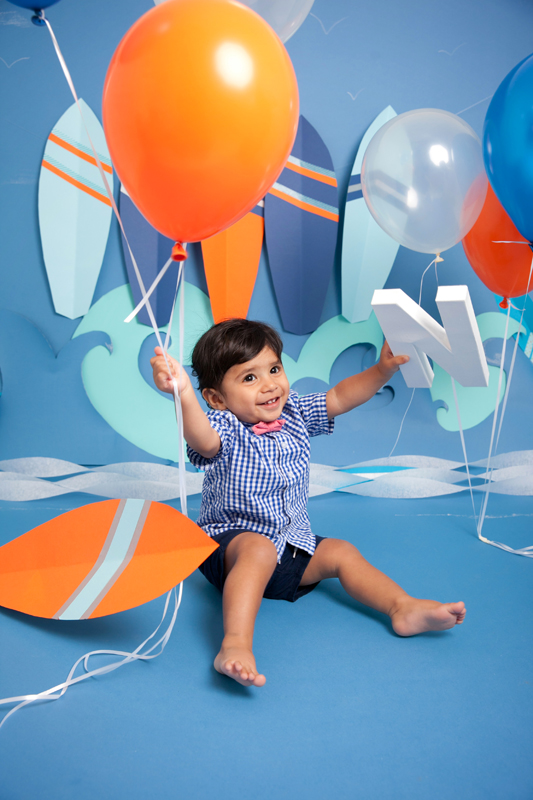 Cakesmash photographer Kent Portraits Baby Birthday themed shoot