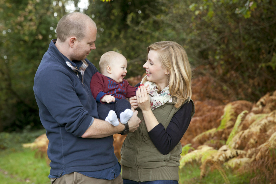 Family photographer London Clare Long Photography outdoors location session