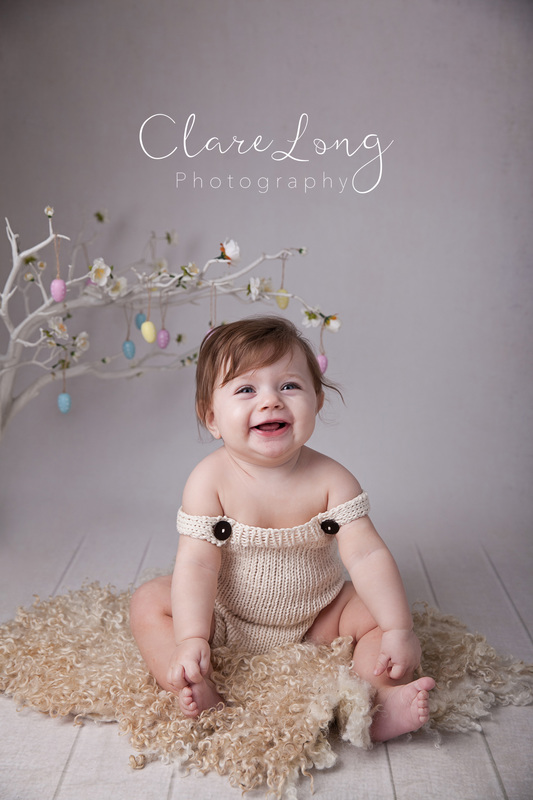 Clare Long Photography Bexley Kent photographer Sitter session smile giggle easter childrens photography