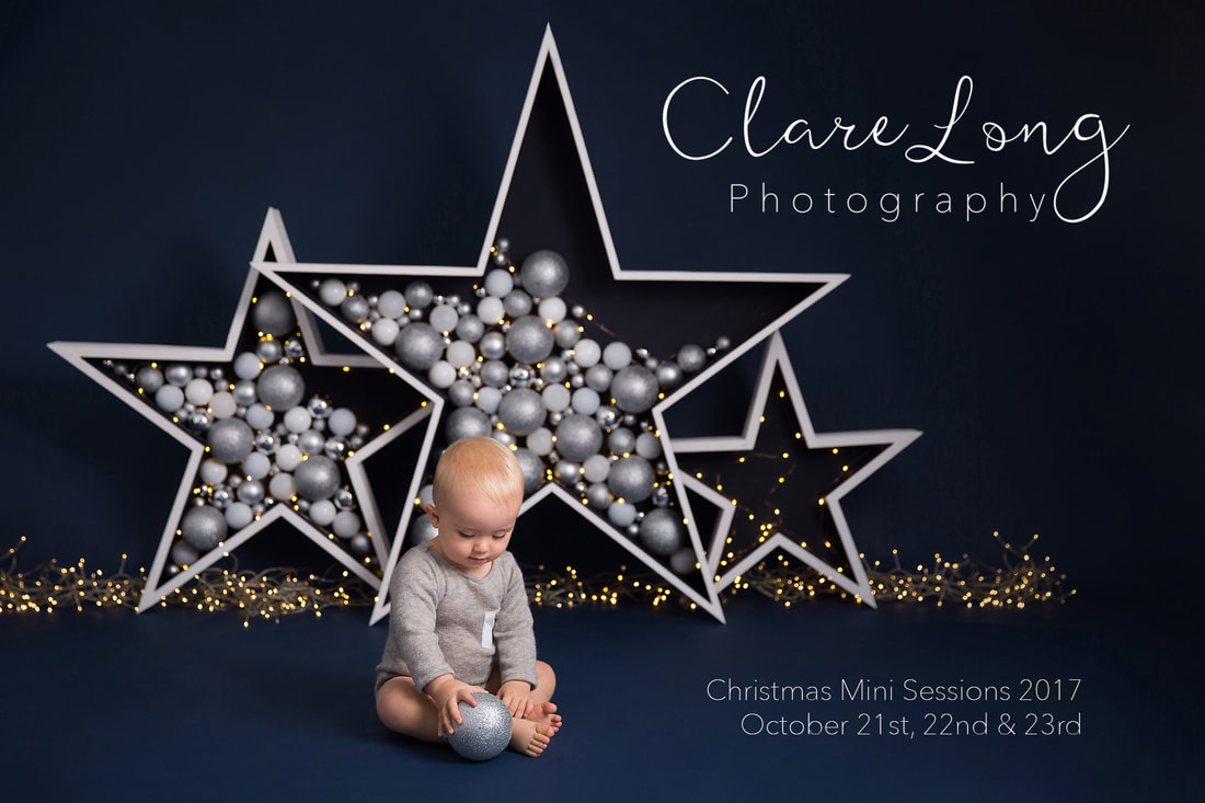 Clare Long Photography Kent portrait christmas children photography stars blue
