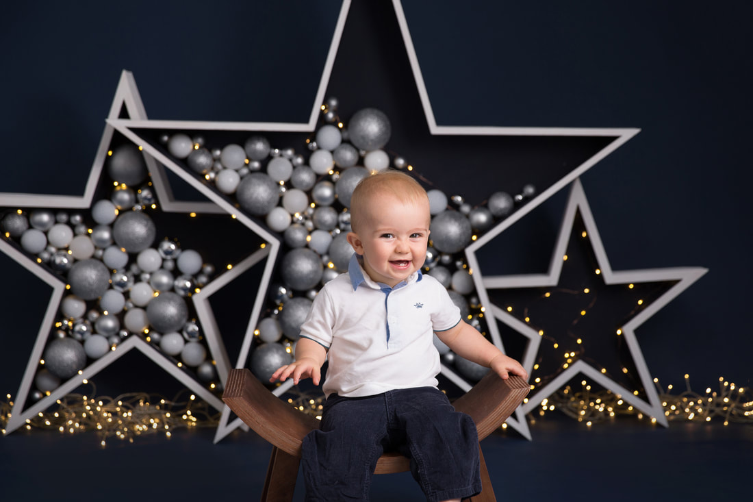 Clare Long Photography London portrait christmas star children photography