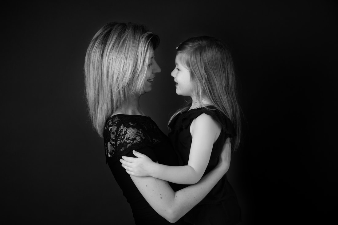 Family Photographer London Clare Long Photography Studio grey smiles