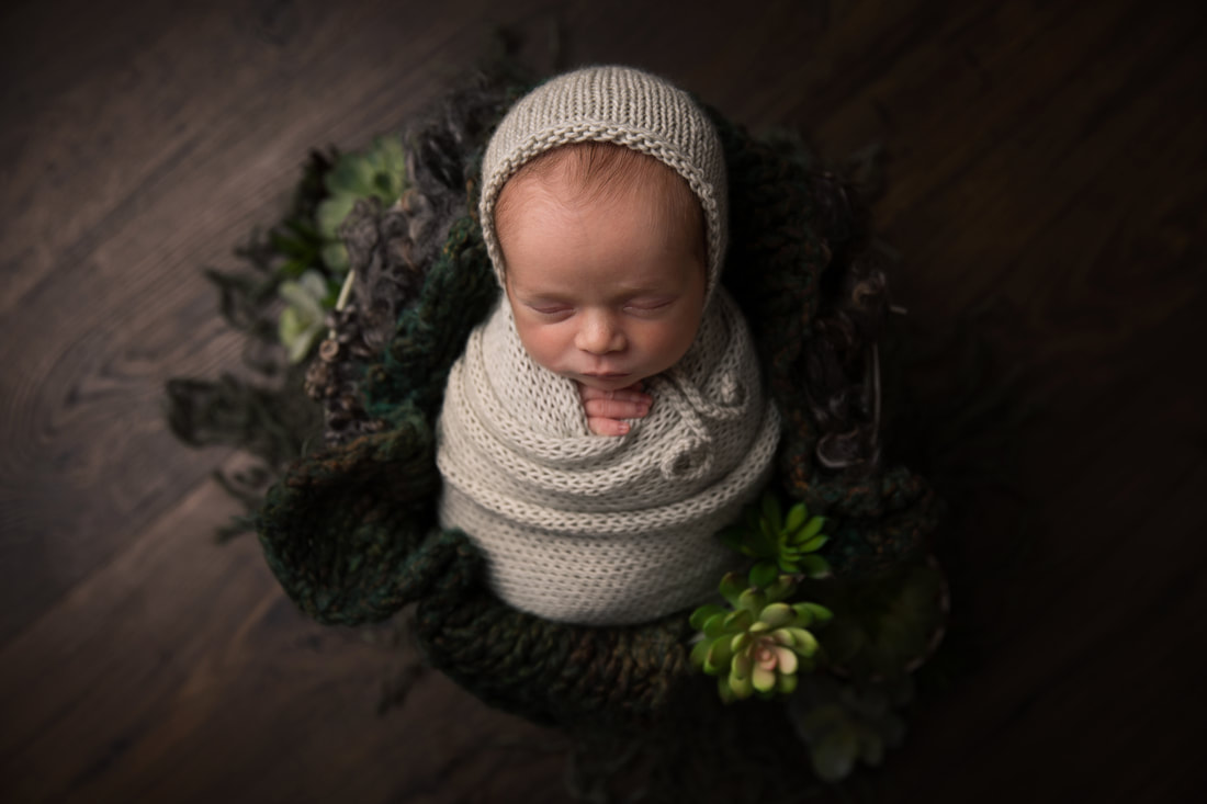 Newborn photography, autumn, Sidcup Clare Long photography Kent newborn photographer log leaves mustard red yellow